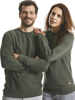 R208M-w weisses Pure Organic Revers. Sweat XS-3XL